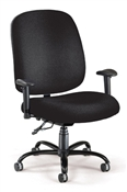 "OFM ""Big & Tall"" Chair (Arms)"