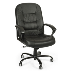 "OFM ""Big & Tall"" Leather Chair"