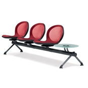 OFM NET Series 3 Seats & 1 Table Beam