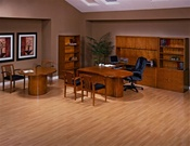 Kenwood Series Cherry Wood Desk by Office Star