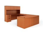 OTG Executive U Desk with Hutch