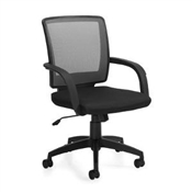 Offices To Go Mid Back Mesh Manager Chair