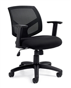 OFFICE TO GO MESH BACK MANAGER'S CHAIR