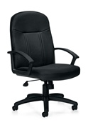 Global Leather Managers Chair