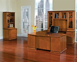 Mendocino Cherry Wood Office Furniture