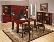 Mendocino Mahogany Wood Office Furniture Desks
