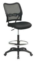 Air Grid Deluxe Mesh Drafting Stool