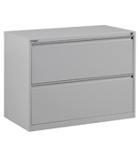 "Office Star 36"" Wide 2 Drawer Lateral File"