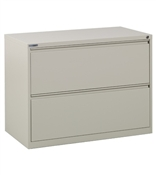 "Office Star 42"" Wide 2 Drawer Lateral File"