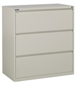 "Office Star 36"" Wide 3 Drawer Lateral File"