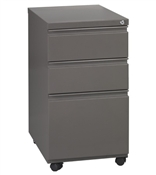 Office Star Closed Top Pedestal with Casters