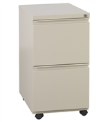 "Office Star 22"" Closed Top Pedestal w/Casters"
