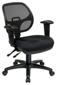 Ergonomic Task Chair with ProGrid® Back and Adjustable Arms