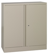 "Office Star 42"" High Storage Cabinet w/1 Adjustable Shelves"