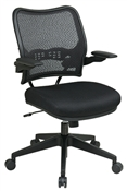 Deluxe Air Grid® Back Chair with Black Mesh Seat