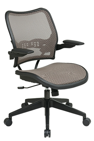 Deluxe Latte Air Grid® Seat And Back Chair