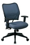 Deluxe Blue Mist VeraFlex® Back Chair