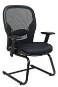 Breathable Mesh Back and Mesh Seat Visitors Chair