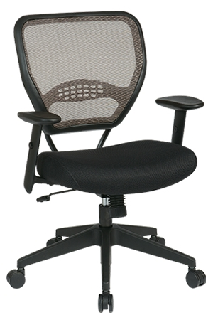 professional latte air grid back managers chair with mesh seat 55