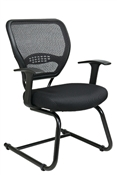 Professional Air Grid® Back Visitors Chair with Mesh Seat