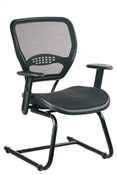 Professional Air Grid® Seat and Back Visitors Chair