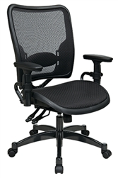 Dual Function Air Grid® Seat and Back Managers Chair