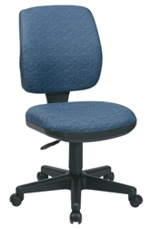 Deluxe Task Chair with Ratchet Back Height Adjustment