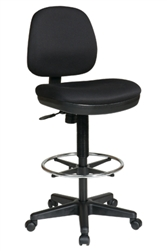 Contemporary Drafting Chair with Flex Back