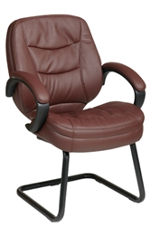 Deluxe Eco Leather Visitors Chair