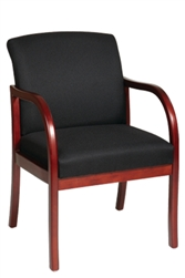Cherry Finish Modular Guest Chair