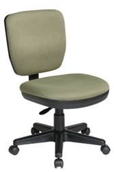 Contemporary Task Chair with Lumbar Support