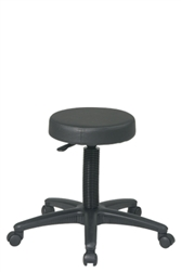 Backless Stool with Nylon Base