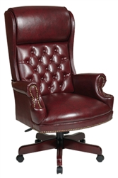 Deluxe High Back Traditional Executive Chair
