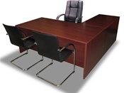 Package Deal 07 - Desk w/ Chairs