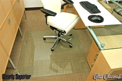 Glass Chairmats - Custom sizes available
