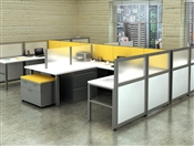Modular Office RSI-Engage Desking Cubicle Workstations