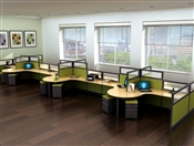 Modular Office RSI Cubicle Workstations