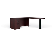 Offices To Go Bullet Desk with Return