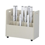 Mobile Roll File, 21 Compartment