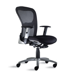 9 to 5 strata 1560 mesh back office chair with synchro tilt mechanism