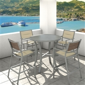 Tropitone - Cabana Club Padded Sling Outdoor Dining Chairs