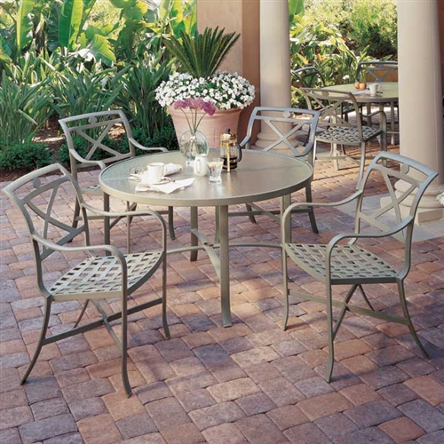Tropitone Palladian Cafe Outdoor Furniture Collection