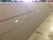 "Meridian 42""W 5 Drawer Lateral Files"