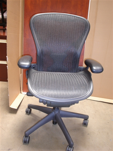 Used Herman Miller Aeron Chairs In San Go But The Por B Model Or Ger Seat C At Up To 1 2 Off Price Of New Chair
