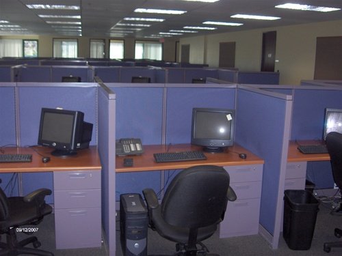 Used Call Center Cubicles With 42 Quot High Panels Office