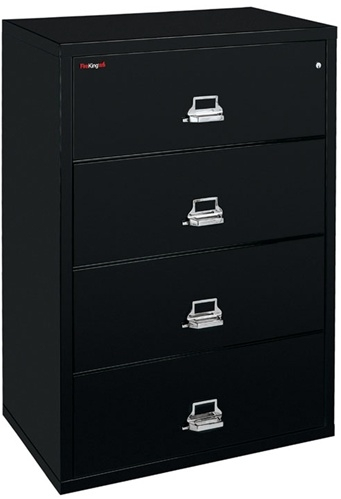 lateral series drawer closed cscml fireking green cabinet wide signature two file cabinets fireproof