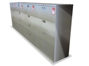 Quality Used Hon 4 Drawer Lateral File Cabinets-04
