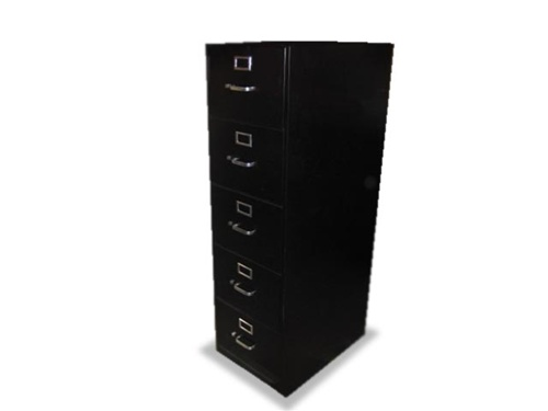 Hon Quality 5 Drawer Used Vertical Filing Cabinets