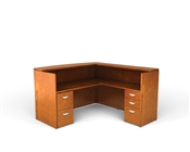 Offices To Go Ventnor Wood Reception or Lobby Desk
