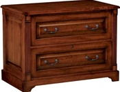 Country Cherry Lateral File Cabinet